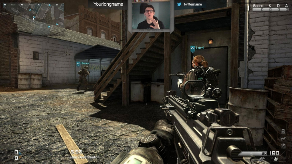 Free Call of Duty Twitch Overlay