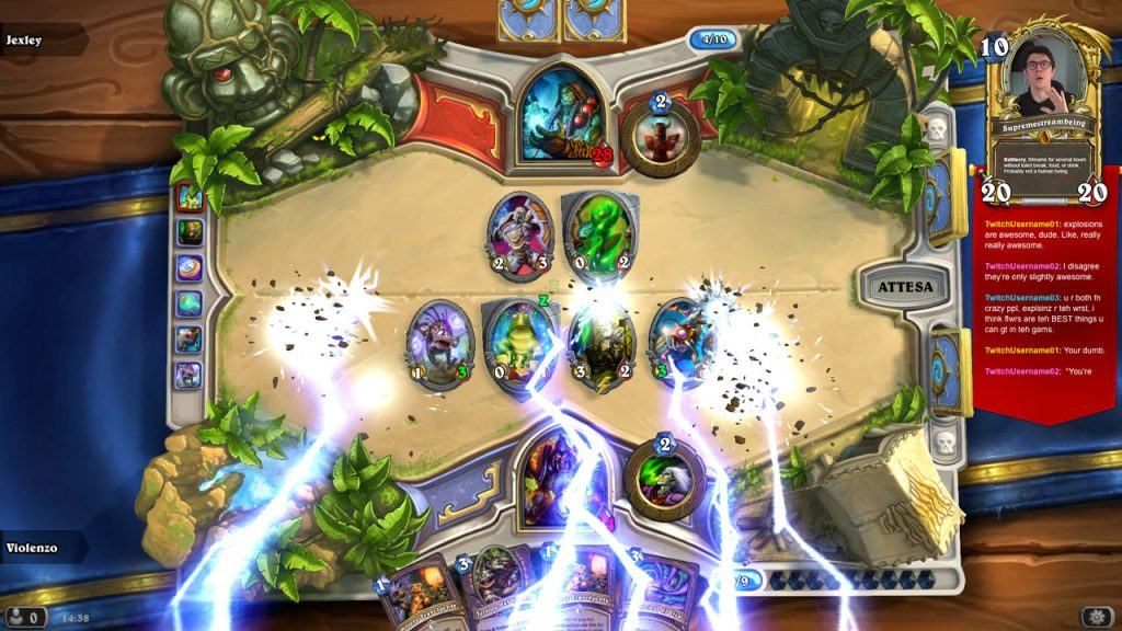 Hearth-Shaped Box – A Hearthstone Stream Overlay