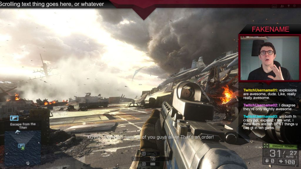 Sharp – A Battlefield 4 Overlay