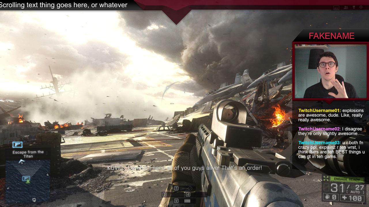 Free Battlefield Twitch Overlay