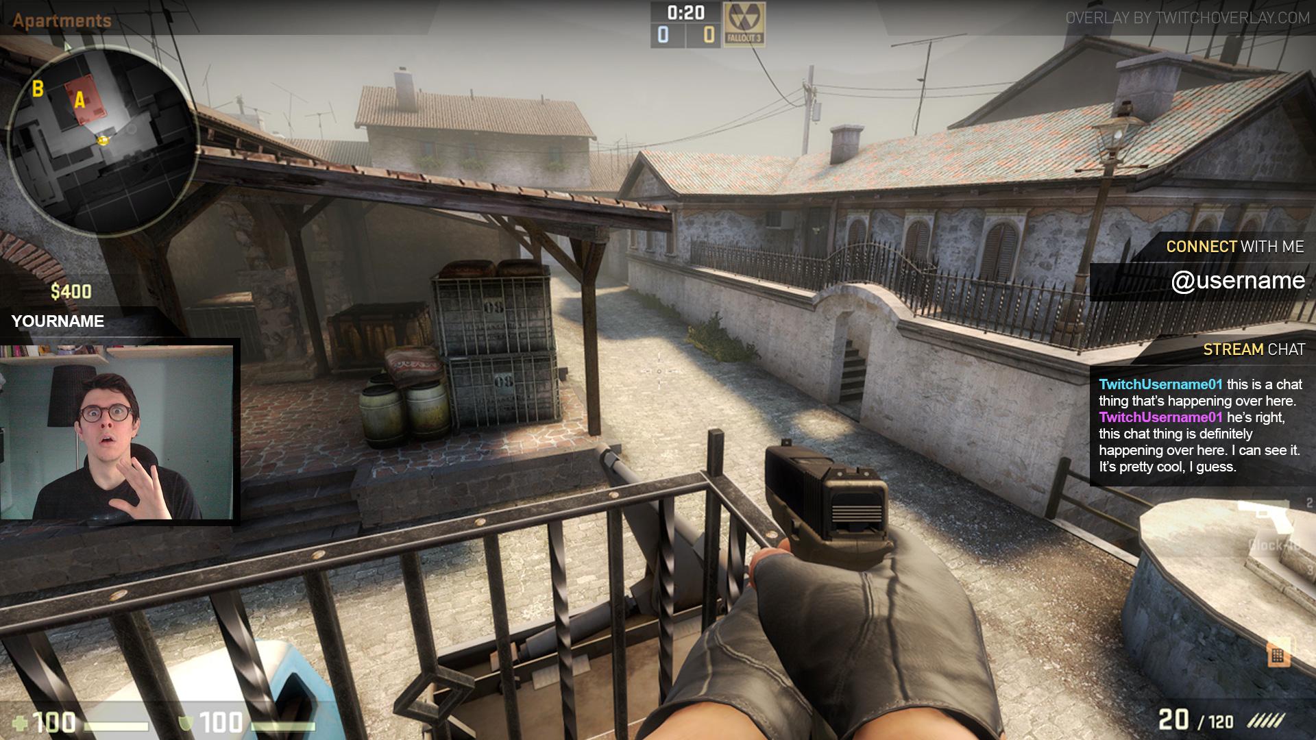 Free CS:GO Overlay