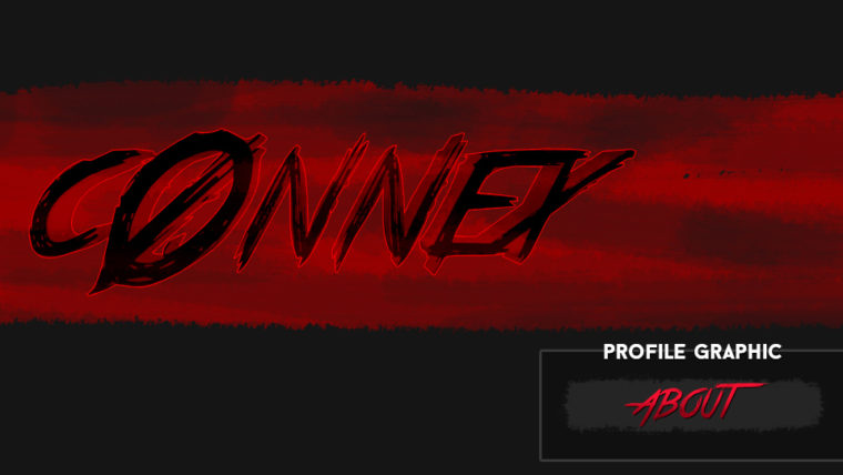 c0nnex (Horror Profile Graphics & Banner)