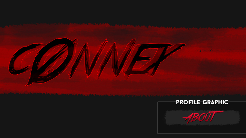 c0nnex (Horror Profile Graphics & Banner)