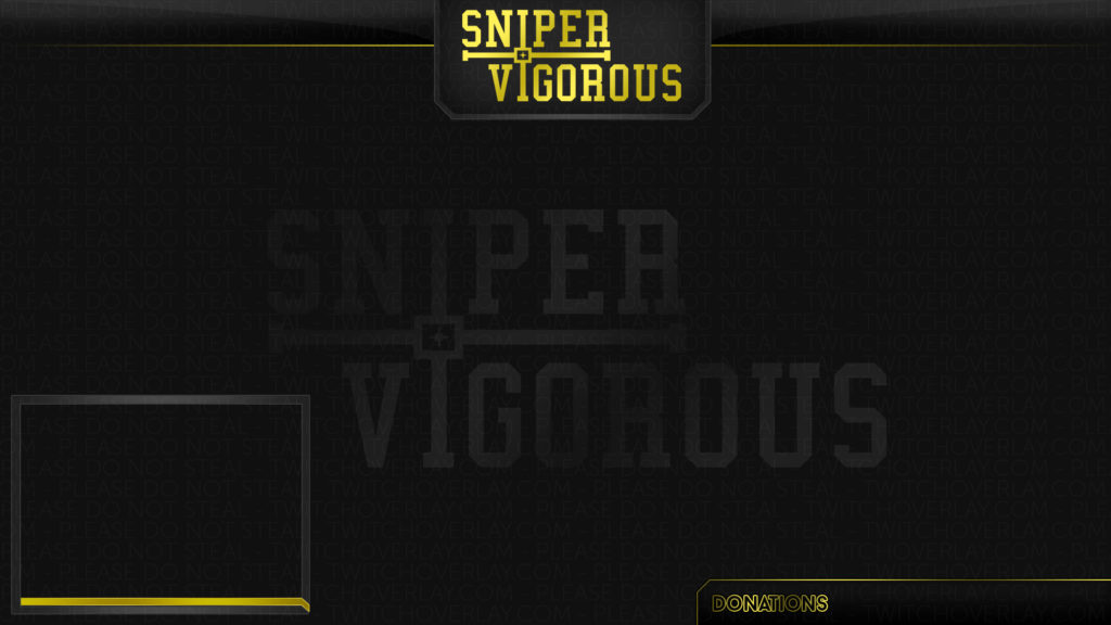 Sniper Vigorous (Gold Stream Overlay)