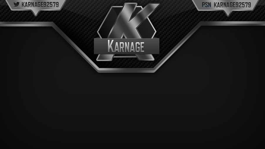 Karnage – Metallic Carbon Stream Overlay