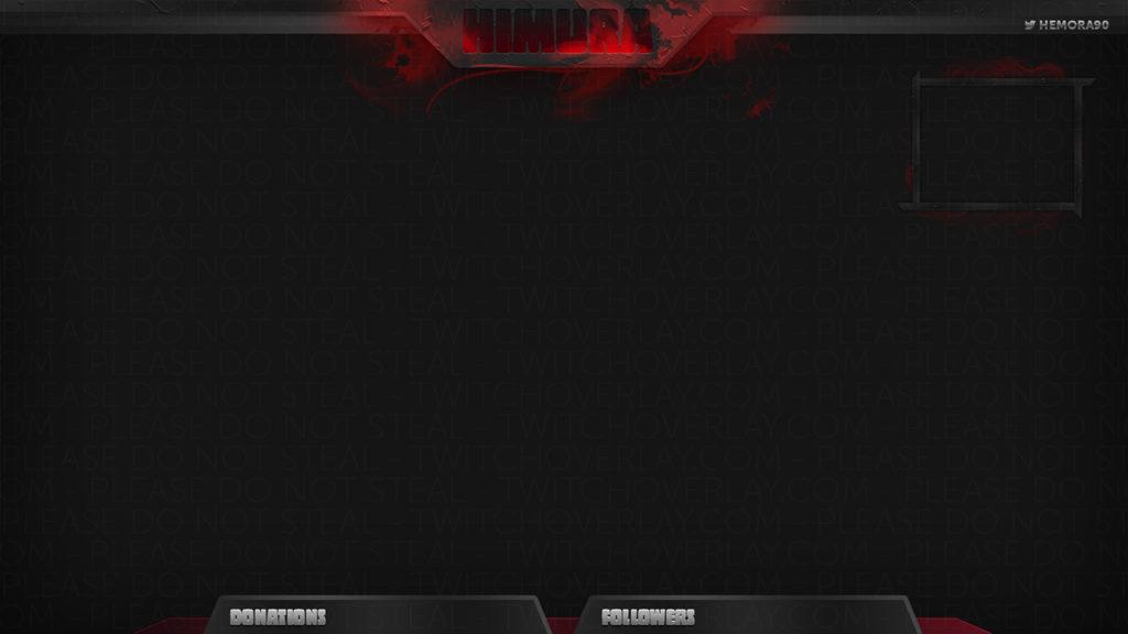 Samurai Stream Overlay - Twitch Overlay