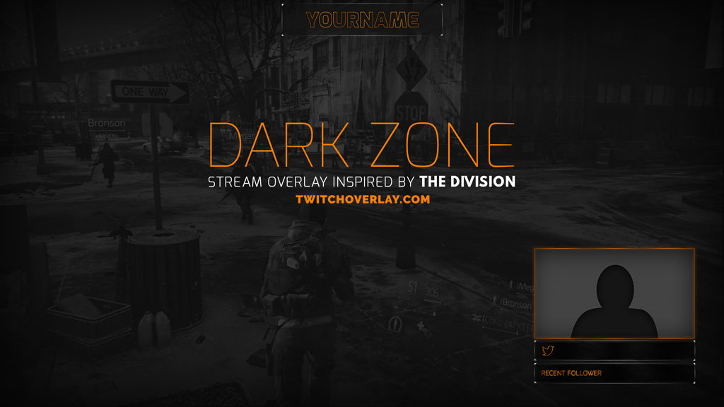 Dark Zone – The Division Stream Overlay
