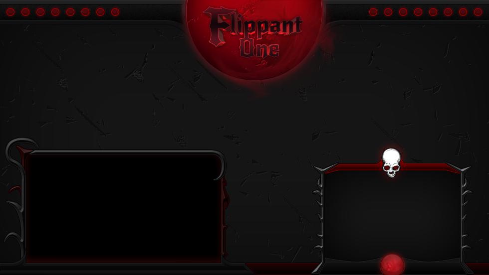 Flippant One – Diablo Stream Overlay
