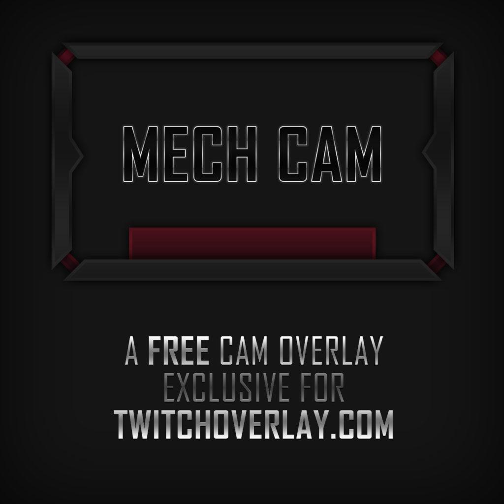 Robotic Cam Overlay - Twitch Overlay