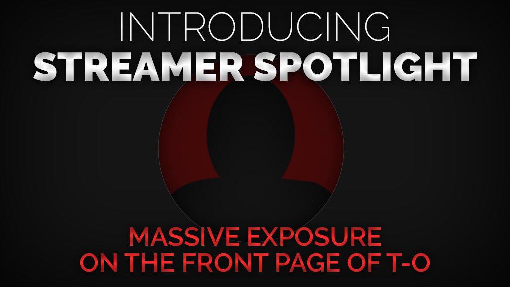streamer spotlight - Twitch Overlay