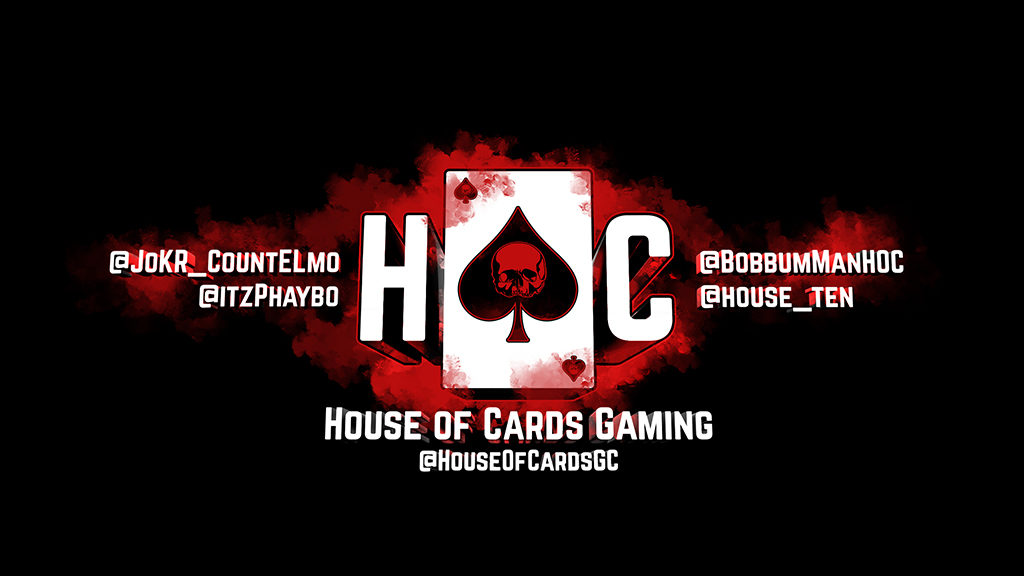 House of Cards Gaming Logo