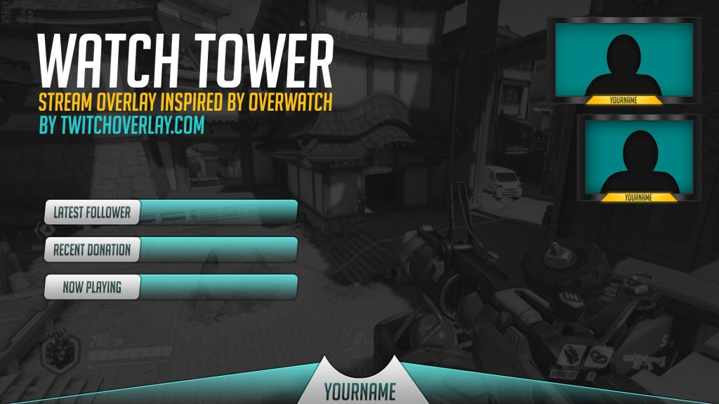 Watch Tower – Overwatch Stream Overlay