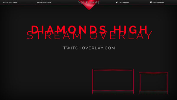 free red overlay