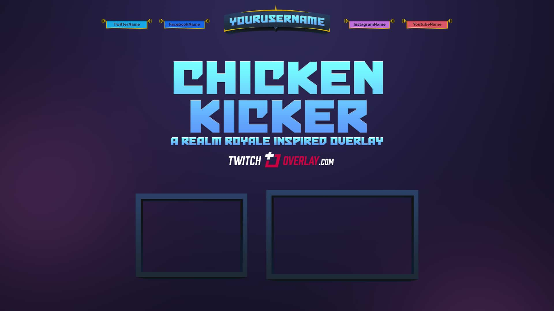 Chicken Kicker - Free Realm Royale Overlay