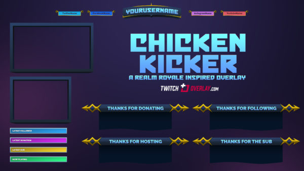 Chicken Kicker – Free Realm Royale Overlay