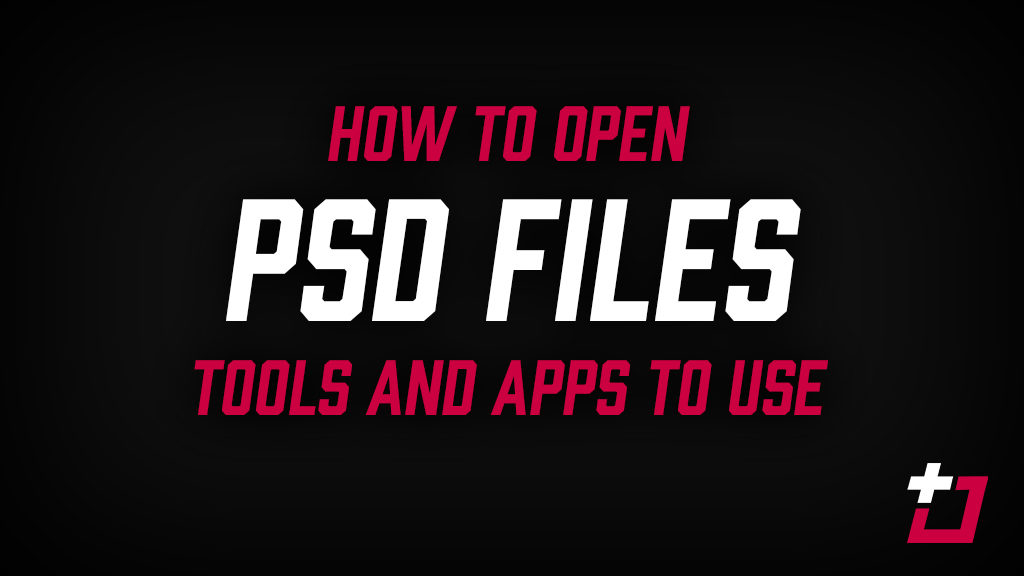 how to open psd files