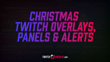 Christmas Twitch Overlay