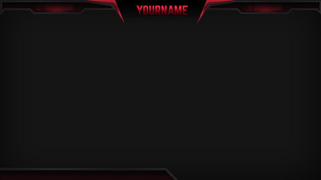 Razor Red – Red eSports Stream Overlay
