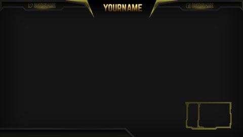 Razor Gold – Gold eSports Stream Overlay