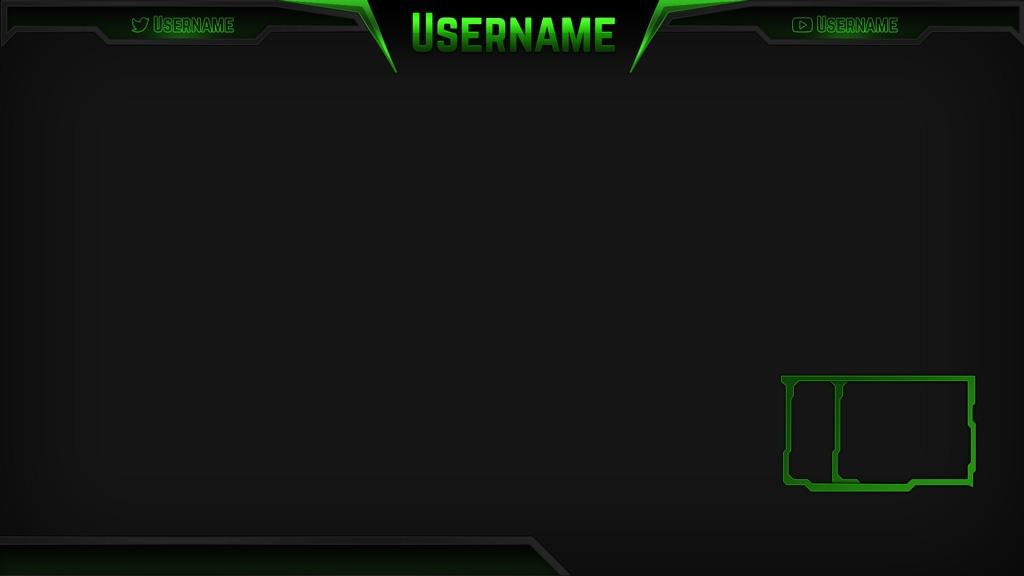 Razor Green – Green eSports Stream Overlay