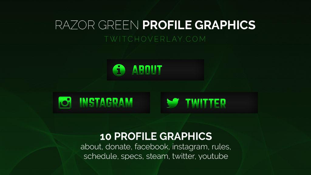Razor Green – Green Profile Graphics