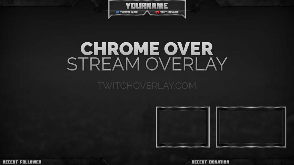 chrome stream overlay - Twitch Overlay