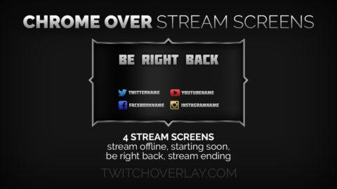 Chrome Stream Screens