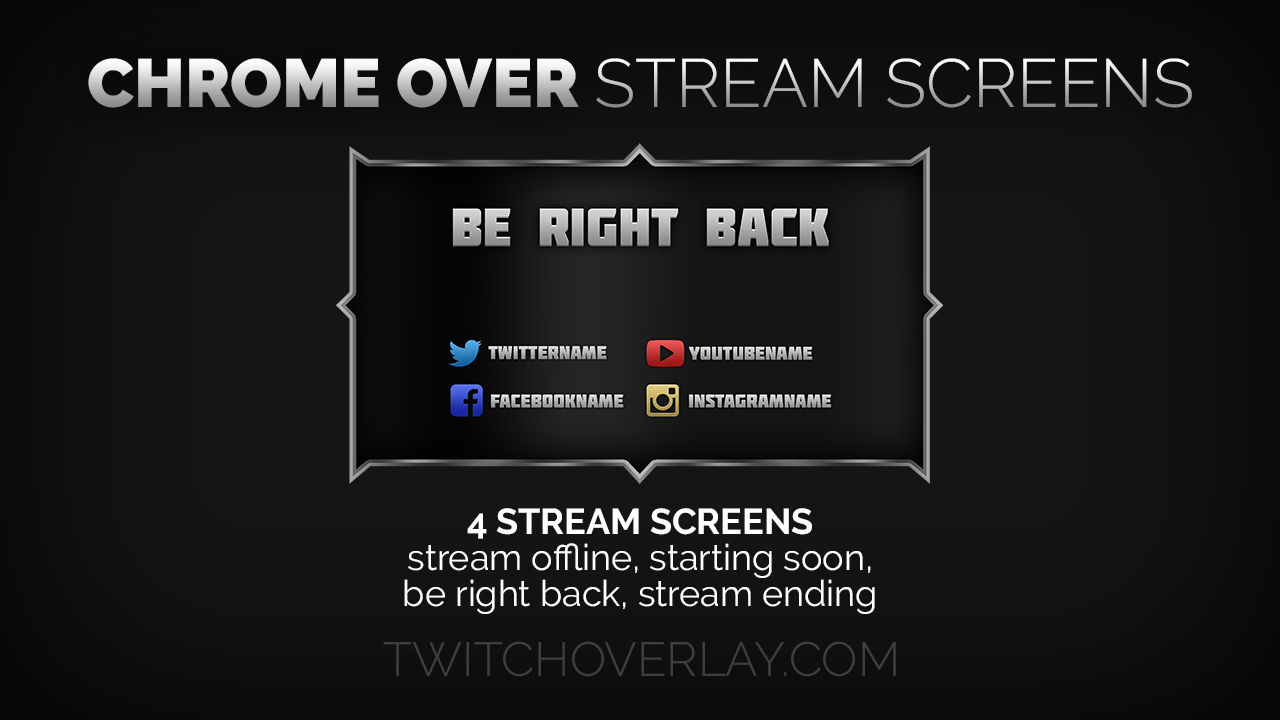 Chrome Stream Screens