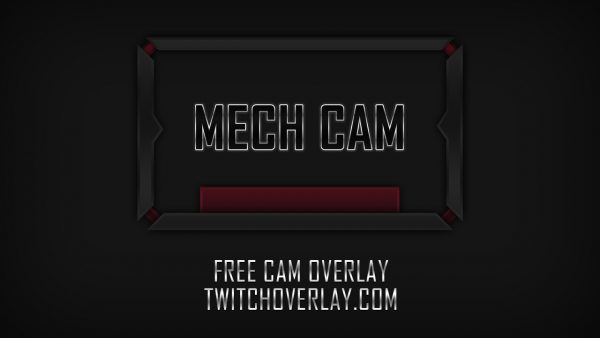 metal webcam overlay