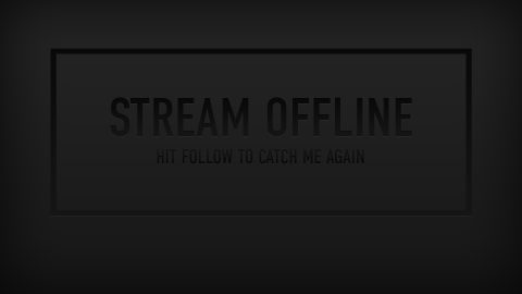Dark Stream Screens - Twitch Overlay