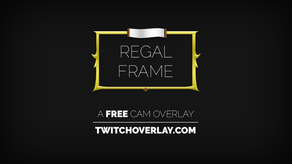 Regal Frame – Gold Cam Overlay