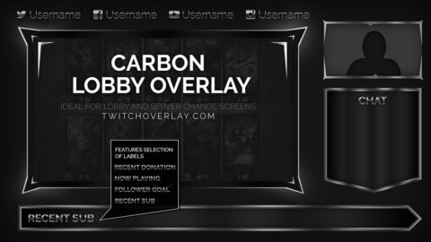 metal twitch chat overlay