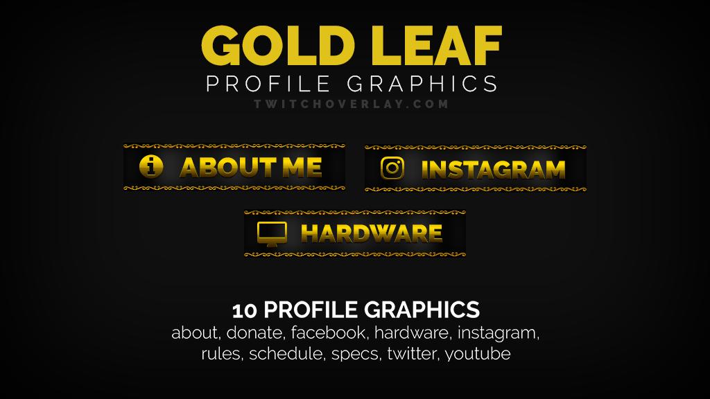 Gold Leaf – Gold Profile Graphics