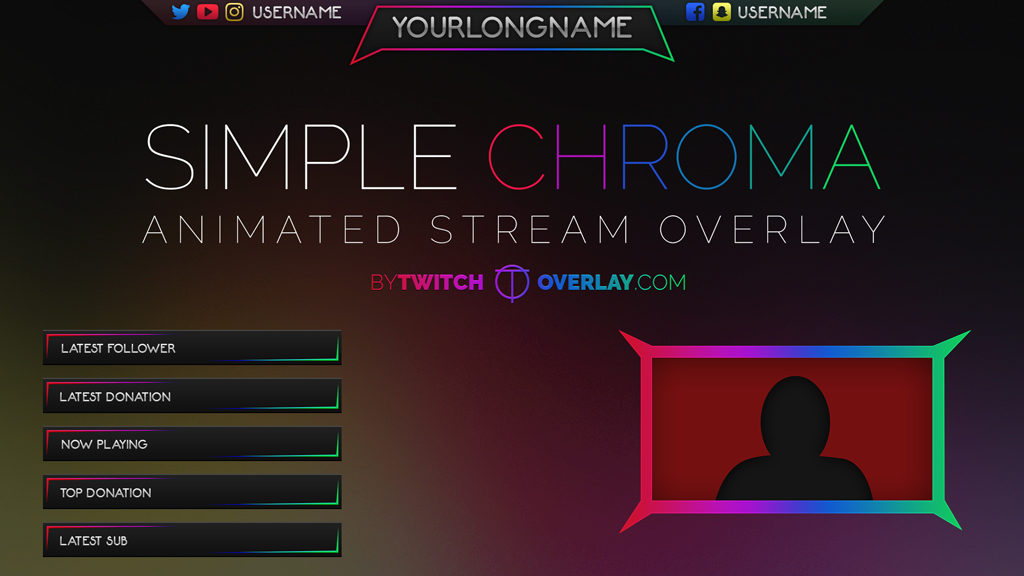 Simple Chroma – Chroma Stream Overlay