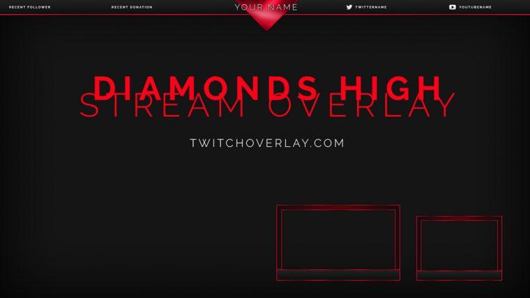 Diamonds High Stream Overlay