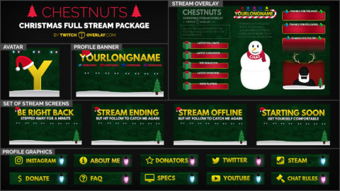 Chestnuts Christmas Stream Package