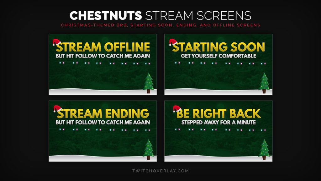 Chestnuts – Christmas Stream Screens