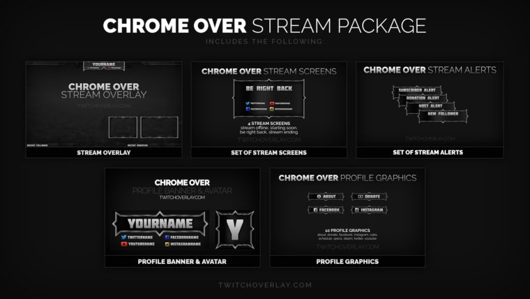 chrome stream package