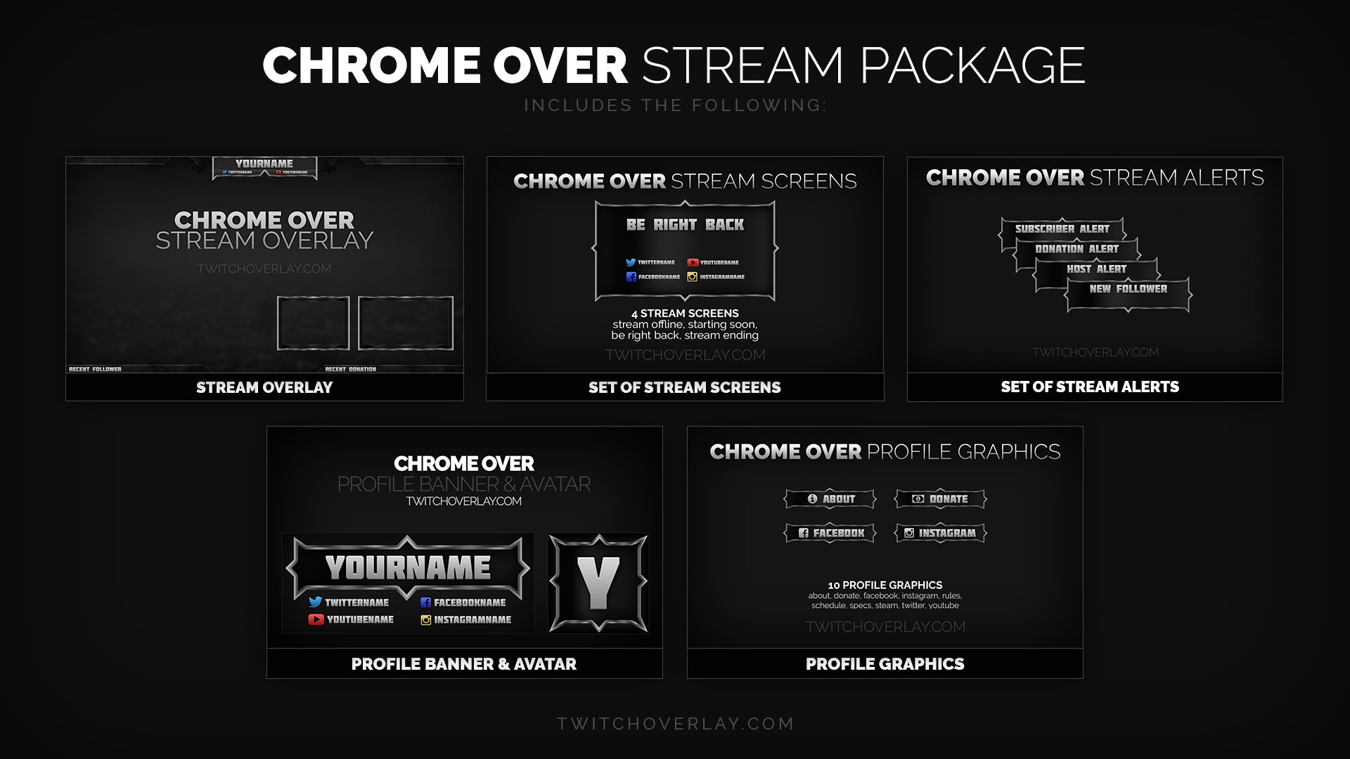 Chrome Over - Chrome Stream Package