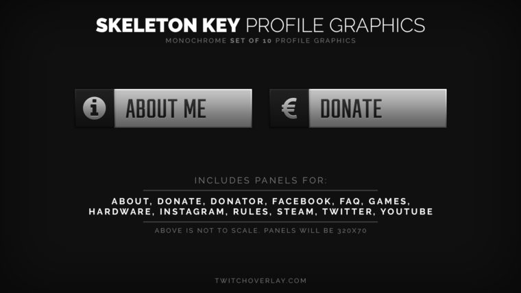 professional profile graphics