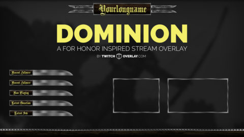 Dominion – For Honor Stream Overlay