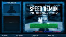 Speedrun Stream Overlay