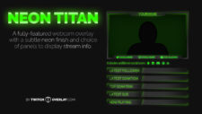 Green Webcam Overlay