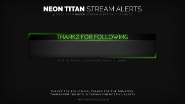 green twitch alerts
