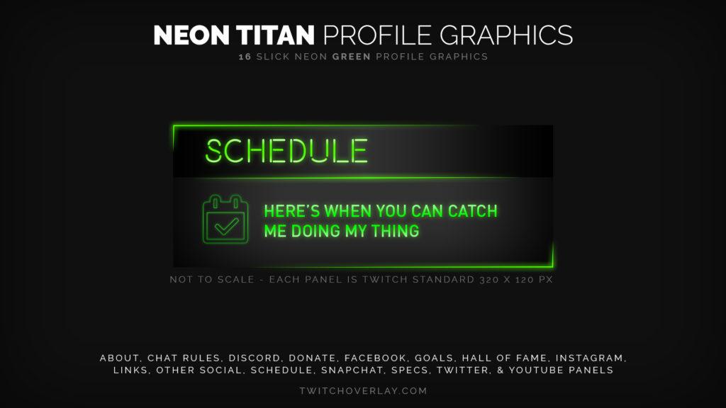 Green Profile Graphics