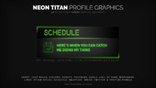 Green Profile Graphics