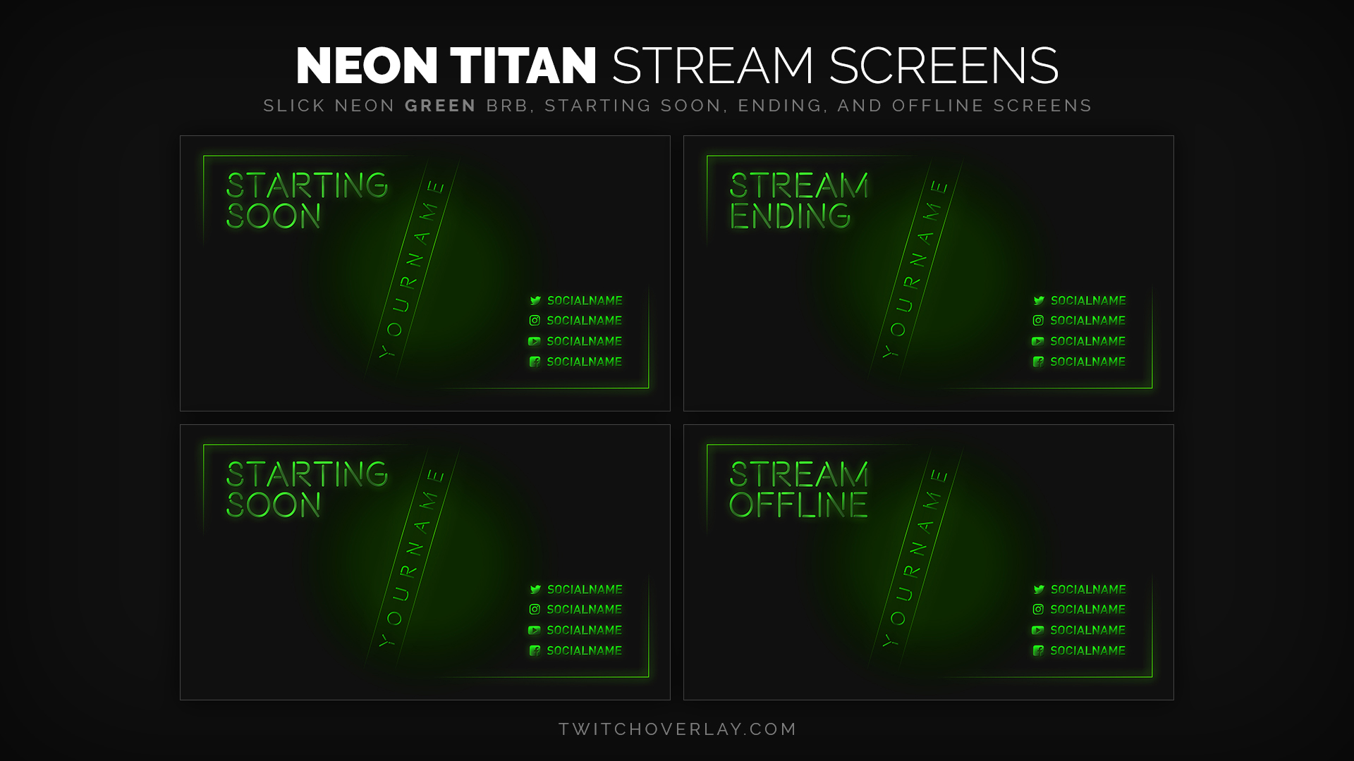 green stream screens