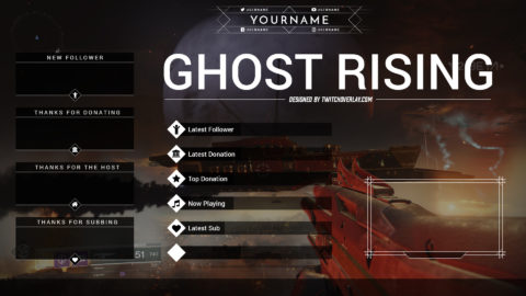 Ghost Rising – Free Destiny 2 Overlay