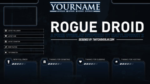 Rogue Droid – Free Battlefront 2 Overlay