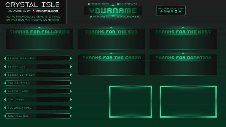 emerald overlay